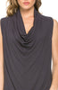 Sleeveless Cowl Neck Tunic Top - BodiLove | 30% Off First Order  - 31