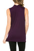 Sleeveless Cowl Neck Tunic Top - BodiLove | 30% Off First Order  - 33