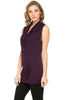 Sleeveless Cowl Neck Tunic Top - BodiLove | 30% Off First Order  - 34