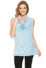 Sleeveless Cowl Neck Tunic Top - BodiLove | 30% Off First Order  - 40
