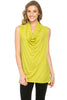 Sleeveless Cowl Neck Tunic Top - BodiLove | 30% Off First Order  - 44