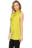 Sleeveless Cowl Neck Tunic Top - BodiLove | 30% Off First Order  - 46