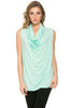 Sleeveless Cowl Neck Tunic Top - BodiLove | 30% Off First Order  - 52