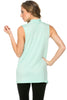 Sleeveless Cowl Neck Tunic Top - BodiLove | 30% Off First Order  - 53