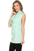 Sleeveless Cowl Neck Tunic Top - BodiLove | 30% Off First Order  - 54
