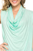 Sleeveless Cowl Neck Tunic Top - BodiLove | 30% Off First Order  - 55