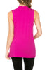 Sleeveless Cowl Neck Tunic Top - BodiLove | 30% Off First Order  - 61