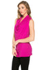 Sleeveless Cowl Neck Tunic Top - BodiLove | 30% Off First Order  - 62