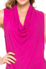 Sleeveless Cowl Neck Tunic Top - BodiLove | 30% Off First Order  - 63
