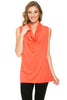 Sleeveless Cowl Neck Tunic Top - BodiLove | 30% Off First Order  - 68