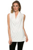Sleeveless Cowl Neck Tunic Top - BodiLove | 30% Off First Order  - 72