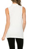 Sleeveless Cowl Neck Tunic Top - BodiLove | 30% Off First Order  - 73