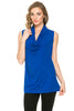 Sleeveless Cowl Neck Tunic Top - BodiLove | 30% Off First Order  - 76