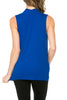 Sleeveless Cowl Neck Tunic Top - BodiLove | 30% Off First Order  - 77