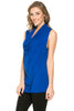 Sleeveless Cowl Neck Tunic Top - BodiLove | 30% Off First Order  - 78