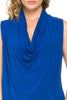Sleeveless Cowl Neck Tunic Top - BodiLove | 30% Off First Order  - 79