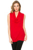 Sleeveless Cowl Neck Tunic Top - BodiLove | 30% Off First Order  - 80