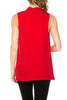 Sleeveless Cowl Neck Tunic Top - BodiLove | 30% Off First Order  - 81