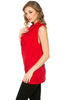 Sleeveless Cowl Neck Tunic Top - BodiLove | 30% Off First Order  - 82