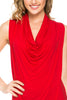 Sleeveless Cowl Neck Tunic Top - BodiLove | 30% Off First Order  - 83