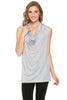Sleeveless Cowl Neck Tunic Top - BodiLove | 30% Off First Order  - 84