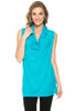 Sleeveless Cowl Neck Tunic Top - BodiLove | 30% Off First Order  - 88