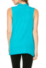 Sleeveless Cowl Neck Tunic Top - BodiLove | 30% Off First Order  - 89