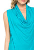 Sleeveless Cowl Neck Tunic Top - BodiLove | 30% Off First Order  - 91