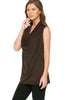 Sleeveless Cowl Neck Tunic Top - BodiLove | 30% Off First Order  - 21