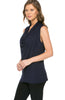 Sleeveless Cowl Neck Tunic Top - BodiLove | 30% Off First Order  - 17