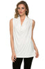 Sleeveless Cowl Neck Tunic Top - BodiLove | 30% Off First Order  - 24