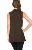 Sleeveless Cowl Neck Tunic Top - BodiLove | 30% Off First Order  - 22