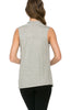 Sleeveless Cowl Neck Tunic Top - BodiLove | 30% Off First Order  - 37