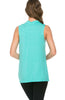 Sleeveless Cowl Neck Tunic Top - BodiLove | 30% Off First Order  - 65