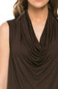 Sleeveless Cowl Neck Tunic Top - BodiLove | 30% Off First Order  - 23