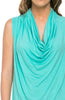 Sleeveless Cowl Neck Tunic Top - BodiLove | 30% Off First Order  - 66