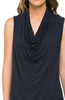 Sleeveless Cowl Neck Tunic Top - BodiLove | 30% Off First Order  - 19