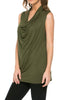 Sleeveless Cowl Neck Tunic Top - BodiLove | 30% Off First Order  - 26