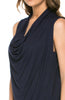 Sleeveless Cowl Neck Tunic Top - BodiLove | 30% Off First Order  - 20