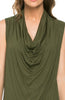 Sleeveless Cowl Neck Tunic Top - BodiLove | 30% Off First Order  - 27