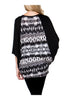 Oversized 3/4 Batwing Sleeve Tunic Top - BodiLove | 30% Off First Order  - 2
