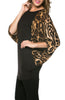 Oversized 3/4 Batwing Sleeve Tunic Top - BodiLove | 30% Off First Order  - 6