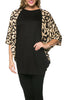 Oversized 3/4 Batwing Sleeve Tunic Top - BodiLove | 30% Off First Order  - 11