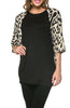 Oversized 3/4 Batwing Sleeve Tunic Top - BodiLove | 30% Off First Order  - 19