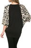 Oversized 3/4 Batwing Sleeve Tunic Top - BodiLove | 30% Off First Order  - 20