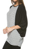 Oversized 3/4 Batwing Sleeve Tunic Top - BodiLove | 30% Off First Order  - 25