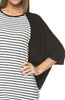Oversized 3/4 Batwing Sleeve Tunic Top - BodiLove | 30% Off First Order  - 26