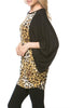 Oversized 3/4 Batwing Sleeve Tunic Top - BodiLove | 30% Off First Order  - 41