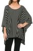 Lightweight Pull Over Knit Poncho Tunic Top - BodiLove | 30% Off First Order  - 1