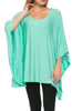 Lightweight Pull Over Knit Poncho Tunic Top - BodiLove | 30% Off First Order  - 5